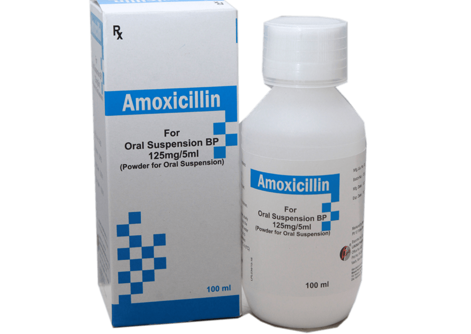 AMOXICILLIN SUSPENSION BP 125mg/ 5ml – Pokupharma Limited